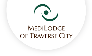 Medilodge of traverse city web logo